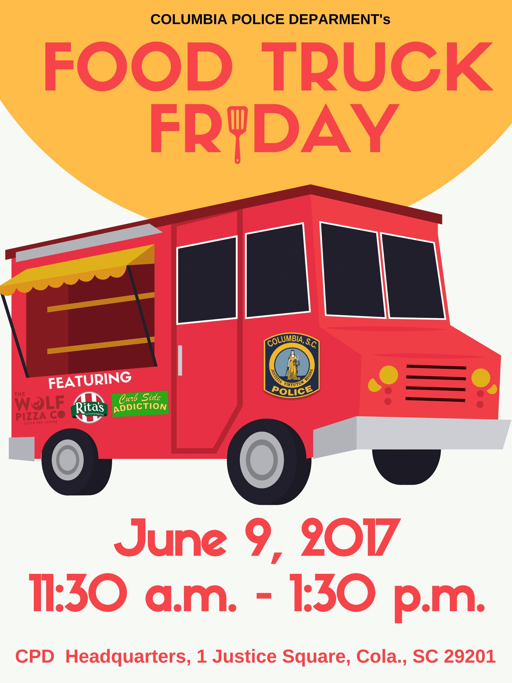 Food Truck Friday Columbia Sc