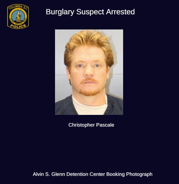 Robbery Suspect Extradited to Columbia – City of Columbia Police