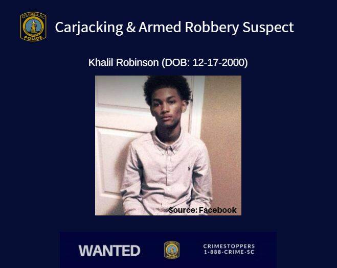 Crimestoppers: Teen Wanted in Armed Robbery and Carjacking Case