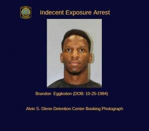 Man Charged in Indecent Exposure Incident – City of Columbia Police